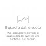 Schermata della Cartella Clinica in iOS 8 su iPhone 5s