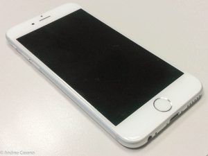recensione iphone 6 - spento