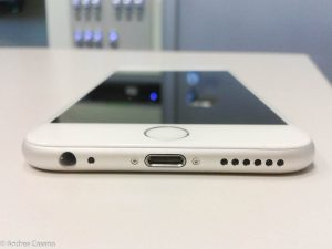 recensione iphone 6 - bottom