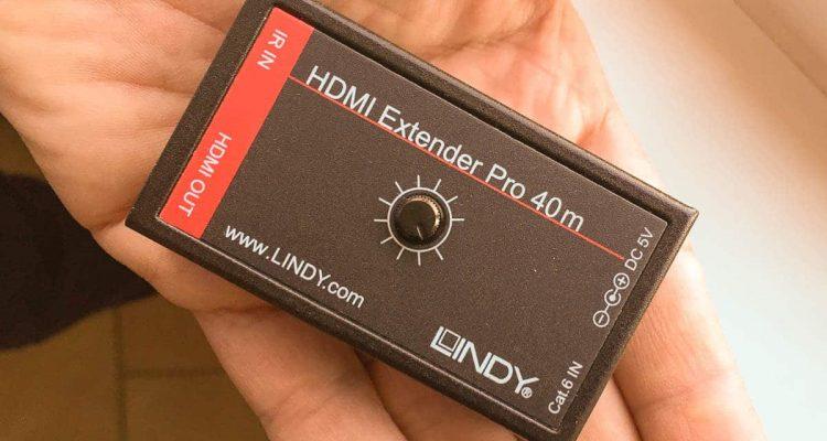 Portare Sky HD - Dimensioni contenute Lindy 38002