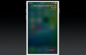 Siri su iOS 9