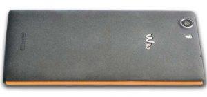 Wiko Ridge 4G retro in policarbonato con cornice di alluminio arancione