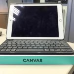 Custodia tastiera Logitech Canvas Apple iPad Air 2 Frontale