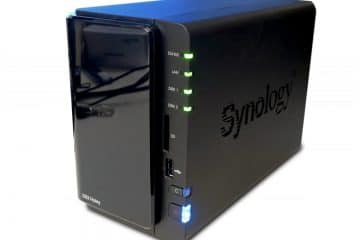 Synology ds214play Diskstation tre quarti