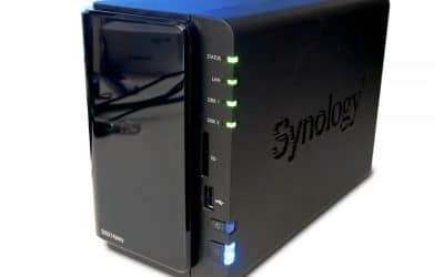 Synology ds214play Diskstation tre quarti