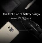 Samsung Galaxy A5 SM-A500F infografica design serie Alpha