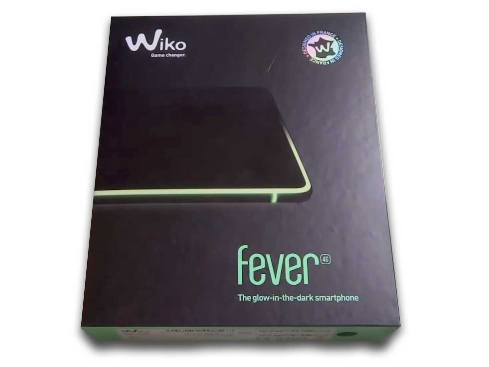 Wiko Fever - Unboxing