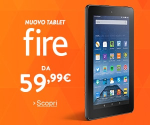 Nuovo Tablet Fire da 59,90€